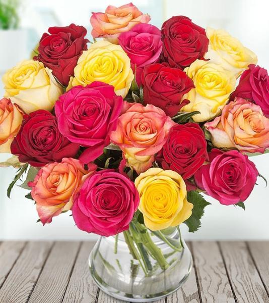 Fiery Roses