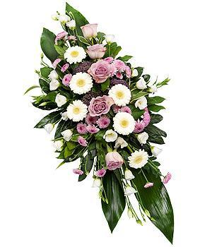 Pink and White Funeral