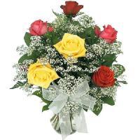 6 Mix Roses